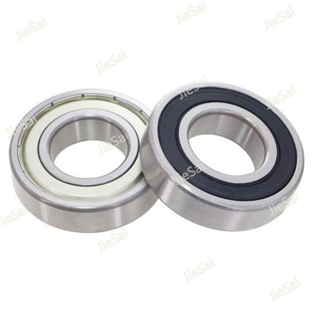 1PCS/2PCS 6200 6201 6202 6203 6204 6205 ZZ 2RS Miniature Bearing Rubber sealing cover deep groove ball bearing image
