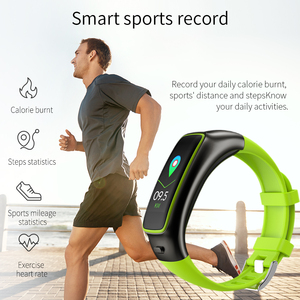 Image 5 - TB02 Smart Armband Bluetooth Kopfhörer 2 in 1 Wireless Headset Noise Reduction Herz Rate Blutdruck Monitor IP67 Wasserdicht