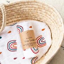 Kangobaby #My Soft Life# Hot Sale All Season Popular Design Muslin Swaddle Blanket