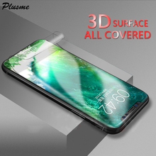 Full Cover 3D Hydrogel Film For iphone X XS Mas XR Protective film 8 7 6 6S Plus HD Slim Screen Protector (Not Glass)