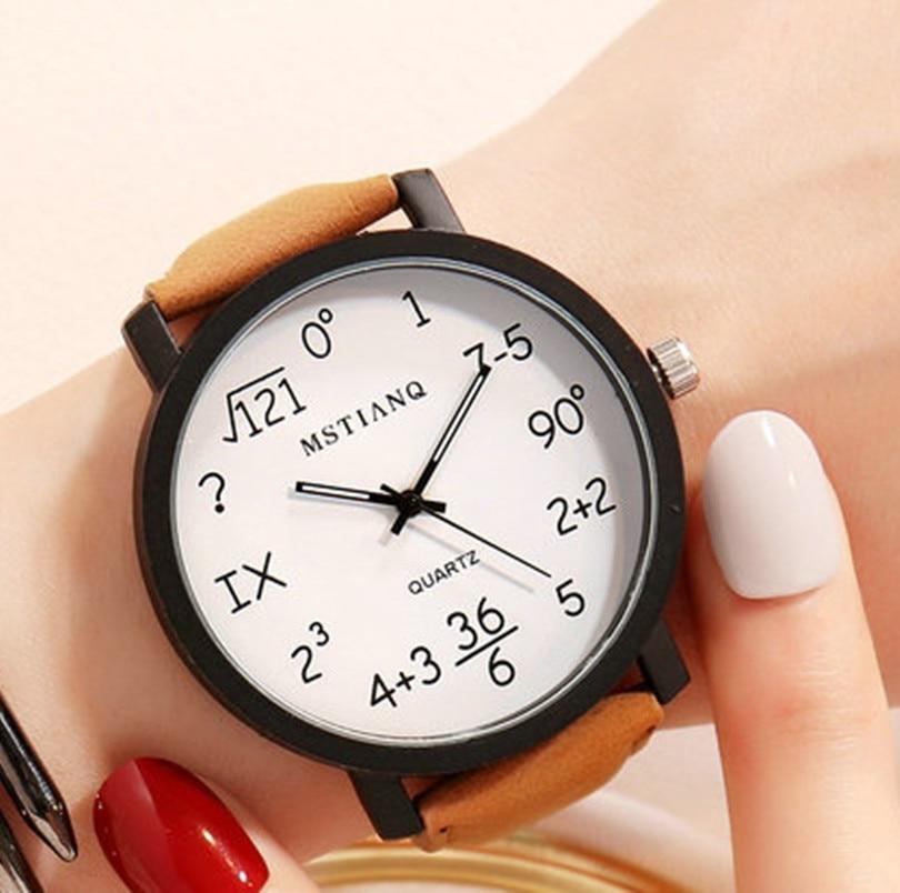 Новинка 2020, простые женские часы для студентов с большим циферблатом, индивидуальные трендовые женские часы, женские модные кварцевые часы,...