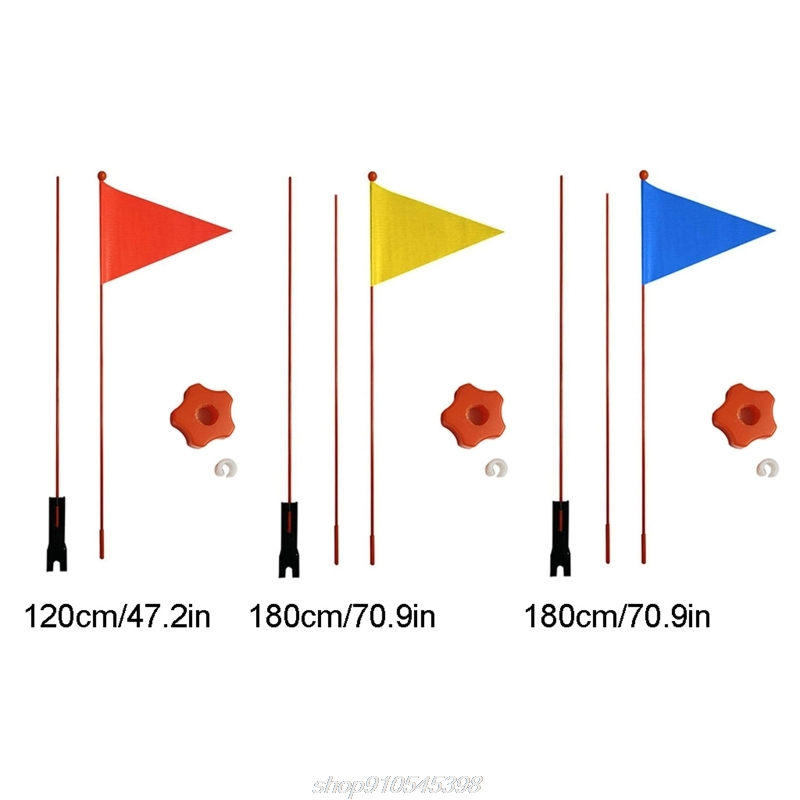 1 Pieces Safety Pennant Divisible 120 cm/180cm Bicycle Flag For Boys And Girls Cycling Balance Bike F09 21 Dropshipping