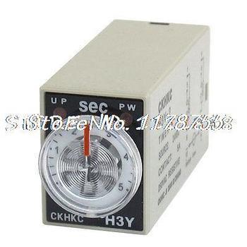 24V DC 8P terminales DPDT 5 segundos 5S retardo temporizador tiempo relé H3Y-2