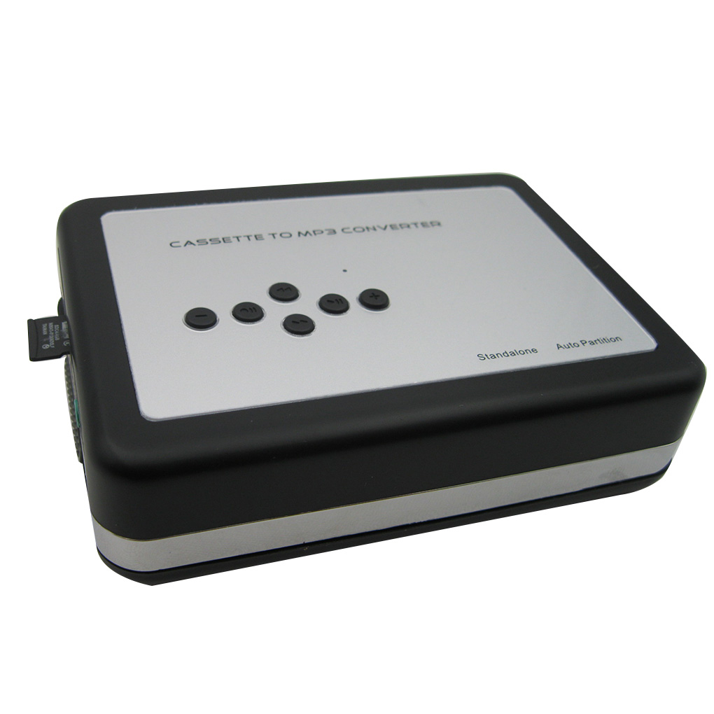 Cassette Player Portable Standalone Cassette Tape To MP3 Converter Walkman Tapes Recorder Via TF Card With Earphones