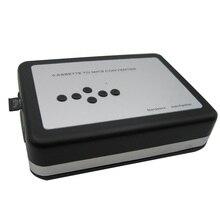 Leitor de cassetes portátil autônomo cassete fita para mp3 conversor walkman fitas gravador via cartão tf com fones de ouvido