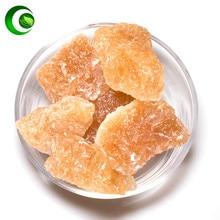 Rock Sugar Rock Candy Sugar Candy Granule Yellow Polycrystalline Lao Bing Tang Bulk Old Rock Candy Piece of Rock Sugar
