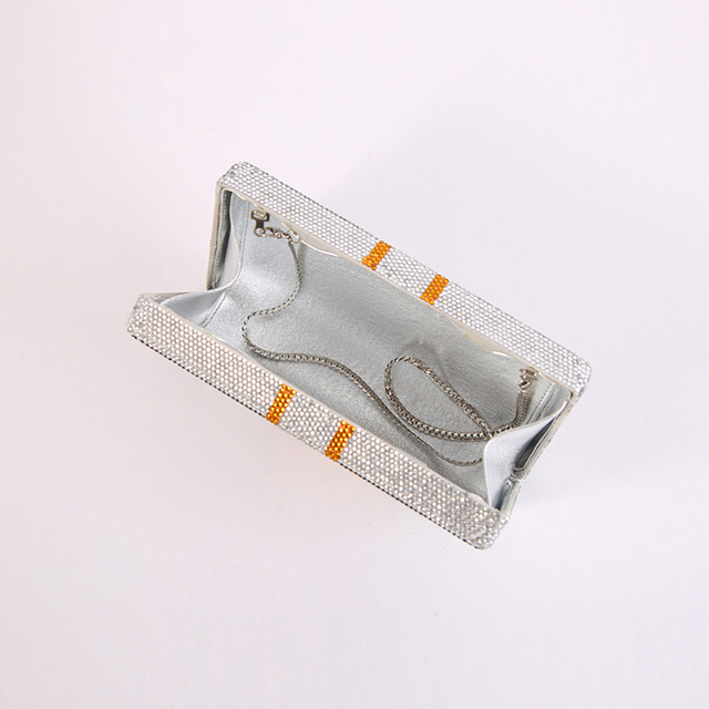 luxury handbags designer crystal evening clutch purse bags for women 2020