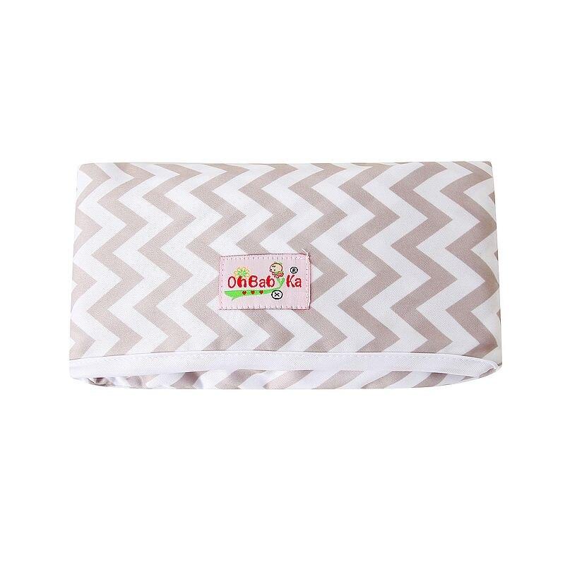 Новые 3 в 1 Водонепроницаемый пеленальный коврик пеленки мнчества, Портативный чехол для детских подгузников коврик чистой ручной складной сумка из узорчатой ткани - Цвет: HND07
