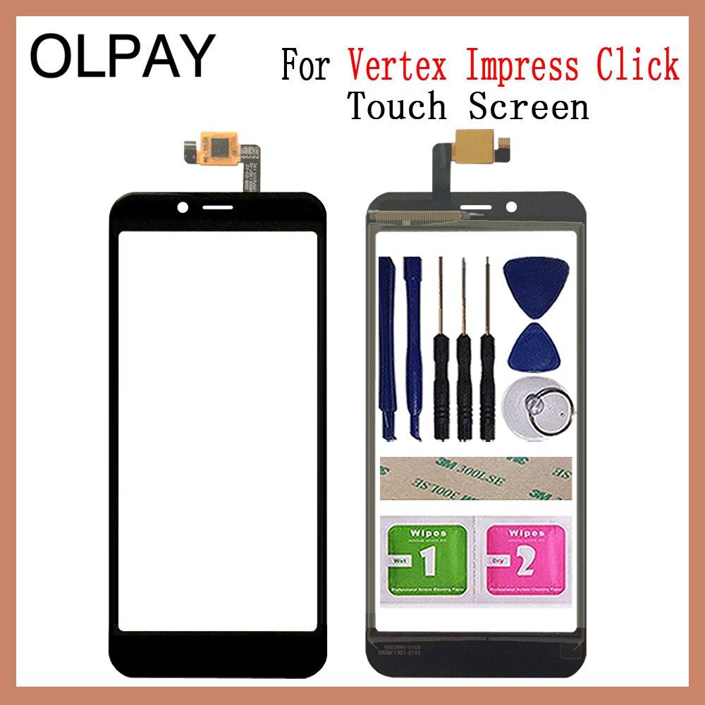 OLPAY 5.0 ''電話携帯タッチスクリーン頂点感動クリックタッチスクリーンガラスデジタイザパネルレンズセンサーガラス修理