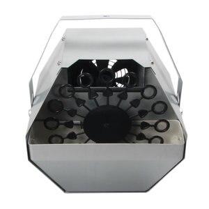 Image 5 - 自動制御バブルブロワーメーカー銃機djステージウェディングパーティー効果装飾吹く泡ボトル機器