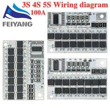 Circuit imprimé de Protection de la batterie Li-ion 21V 18650 a BMS 5s 18650, équilibreur de charge, BMS 5s PCM Lipo li-polymère