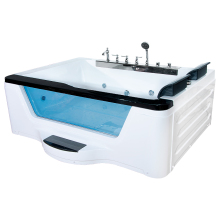 HS-B229A, акриловая ванна, высококачественный домашний массаж, ванна для ванной(левая юбка), 110 В/220 В(2000*1620*700 мм