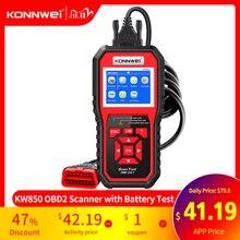 OBD2 ODB2 Scanner Diagnostico Auto Scanner KONNWEI KW850 Funzione Completa Auto Diagnosi Auto Scanner Universale OBD Lettore di Codice Del Motore