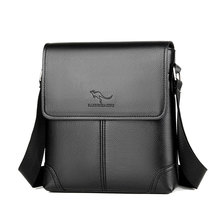 цены Men Tote Bags PU Leather Famous Brand New Fashion Men Messenger Bag Male Cross Body Shoulder Business Bags For Men