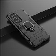 Магнитный чехол держатель для huawei p40 pro 5g телефона с кольцом
