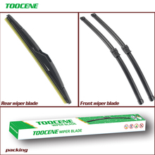 Front And Rear Wiper Blades For Opel Astra H 2005-2010 auto Windscreen windshield Wipers Car Accessories 22+18+13 cheap toocene CN(Origin) natural rubber 2006 2007 2008 2009 0 36kg clean the windshield TC212 Ningbo China