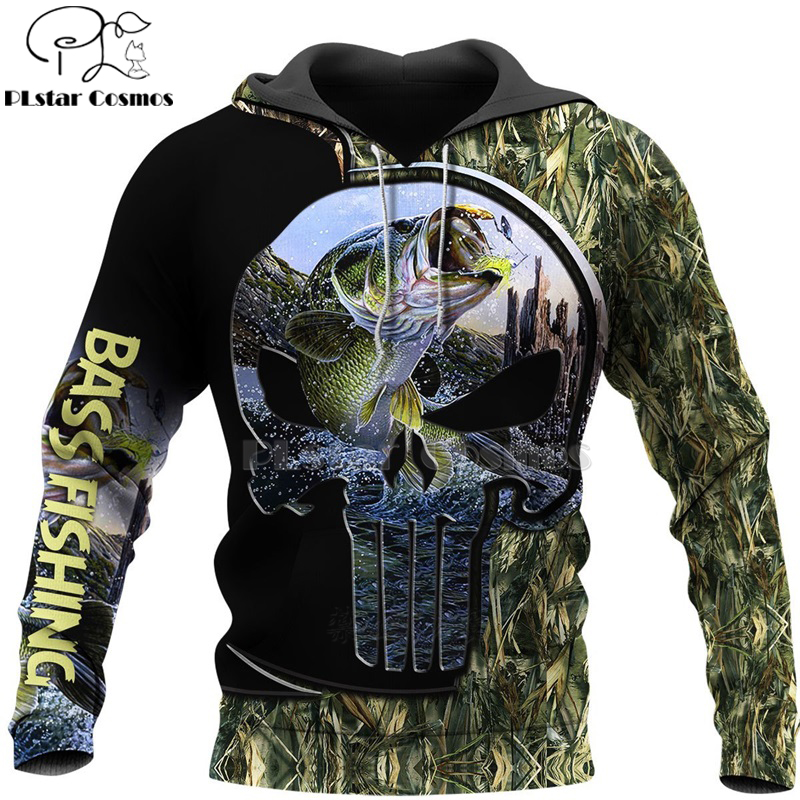 PLstar Cosmos New Fisherman fisher Fishing Art Harajuku casual Tracksuit Funny 3D Print Hoodies/Pullover/Jacket/Men Women-63