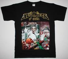 HELLOWEEN DR. STEIN'88 GAMMA RAY MASTERPLAN IRON SAVIOUR RAGE nouveau T-SHIRT noir(China)