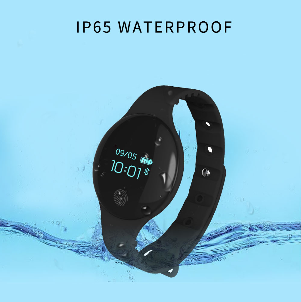 digital silicone macio inteligente horloge para ios android bericht herinnering
