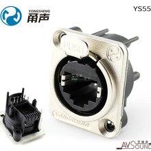 YONGSHENG YS552 Сеть RJ45 Модуль панель Разъем Вертикальный PCB сварочный светодиодный большой экран