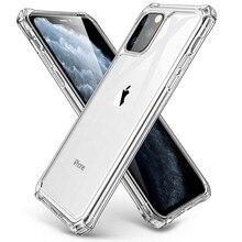 "DHL 300 шт для iPhone 11 чехол прозрачный гибкий Кристалл ТПУ мягкий ультра тонкий гель Премиум прозрачный чехол для iPhone 11-6,1"""