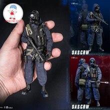 DAMTOYS 1/12 مقياس البريطانية الهواء بعثة SAS CRW Assaulter قواطع اللحيم عمل الشكل CollectionsPES001/002 الذكور الشكل نماذج