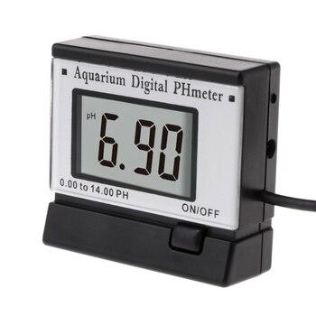 цена на LCD Digital PH Meter Monitors for Hydroponics Aquarium Swimming Pool Spa 0.00-14.00 PH Tester Water Quality Test