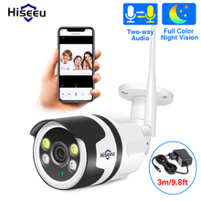 Hiseeu HD 720P 1080P IP 카메라 무선 Wifi 총알 Camara 야외 방수 야간 IR 컷 메모리 홈 보안