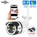 Hiseeu HD 720P HD 1080P cámara IP inalámbrica Wifi bala Cámara al aire libre impermeable de la visión nocturna IR corte de memoria de seguridad