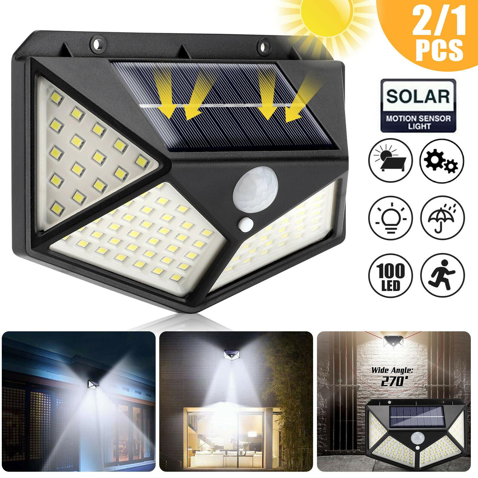 Lampka solarna SHOPLED 100 Led Solar Light za $4.51 / ~17zł
