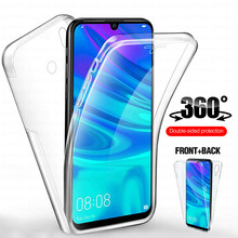 360 Front+Back Phone Case For Huawei P Smart Z Psmart Plus 2018 2019 Soft TPU PC Cover
