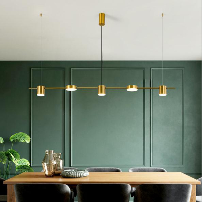 Dining Room Led Pendant Lights Black Lighting Fixtures Luminaire For Restaurant Bar Coffee Vintage Industrial Hanging Lamp