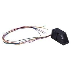 Detal AS608 czytnik linii papilarnych moduł czujnika optyczny czytnik linii papilarnych moduł linii papilarnych dla Arduino blokuje komunikację szeregową Inte w Czujnik obrazu od Elektronika użytkowa na