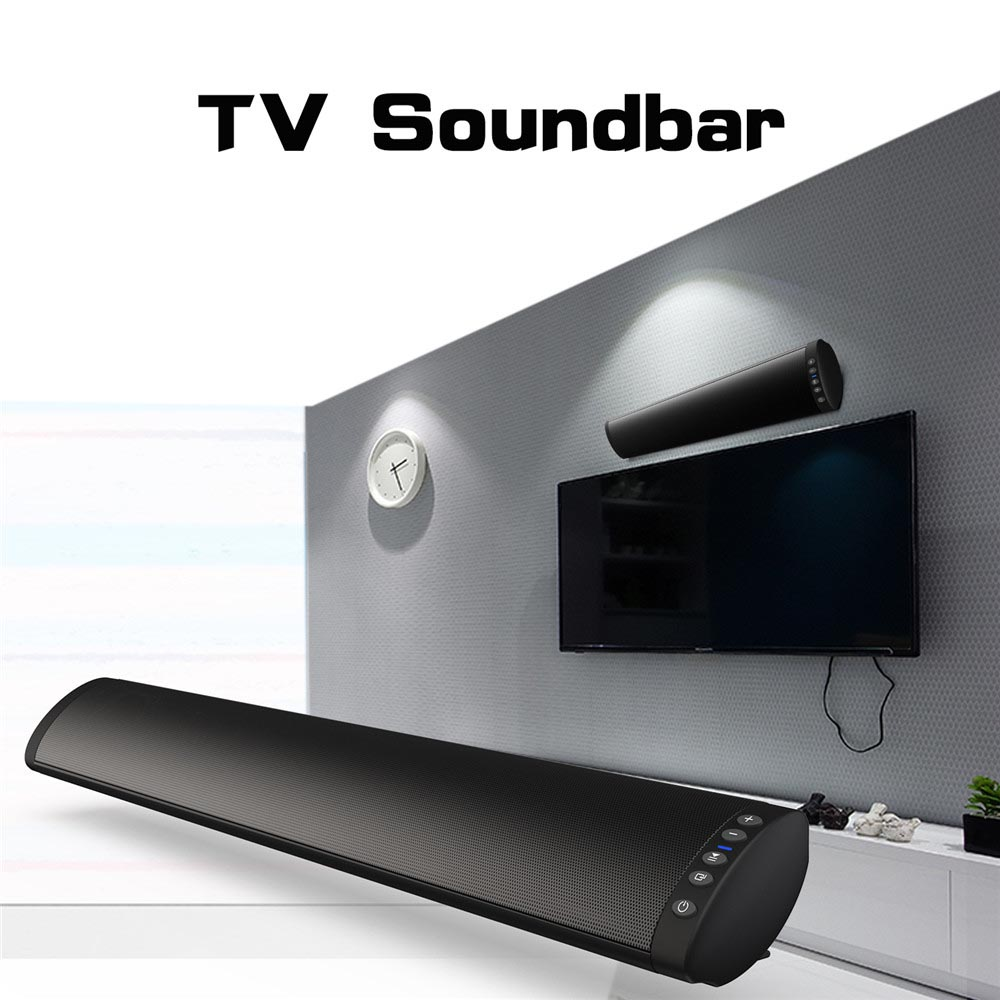 Son de qualité supérieure 3D Bluetooth barre de son TV Bluetooth haut-parleur FM Radio système de cinéma maison Portable sans fil Subwoofer basse Boombox