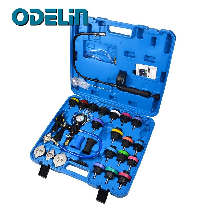 Universal Radiator Pressure Tester  amp  Vacuum Type Cooling System Kit