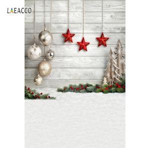 Image 5 - Laeacco Weihnachten Festivals Baby Spielzeug Geschenk Alt Holz Regal Boden Baby Kind Party Porträt Foto Hintergrund Fotografie Hintergrund