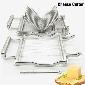 Image 5 - Commercial เครื่องตัดชีสสแตนเลส 1 ซม.2 ซม.ใบมีดลวดขนมใบมีดทนทานทำอาหาร Baking New Butter เครื่องตัด