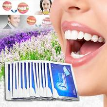10 pièces/5 paires professionnel avancé bandes de blanchiment des dents blanchiment dentaire Blanqueador dents détachant bandes Gel TSLM2(China)