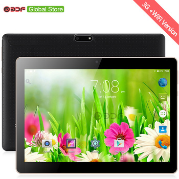 10 Inch 3G 2G Phone Call Android Quad Core Tablet Pc Android 7.0 1GB 32GB WiFi FM Bluetooth 1G+32G Tablets Pc 5Mp camera