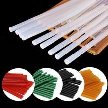 40Pcs/10Pcs Hot Melt Glue Sticks 7mm 11mm Transparent Black Glue Rod for Glue Gun DIY Crafts  Adhesi