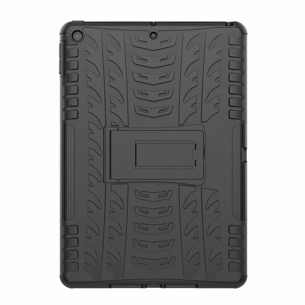 Hybrid-Armor Rugged Case-Cover Shockproof Kids Child for Heavy-Duty iPad Apple Defender