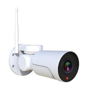 Image 3 - Full HD Mini bala Wifi cámara IP PTZ 2.0MP impermeable 4x Zoom Varifocal Pan Tilt infrarrojo inalámbrico CamHi WIFI Cámara al aire libre