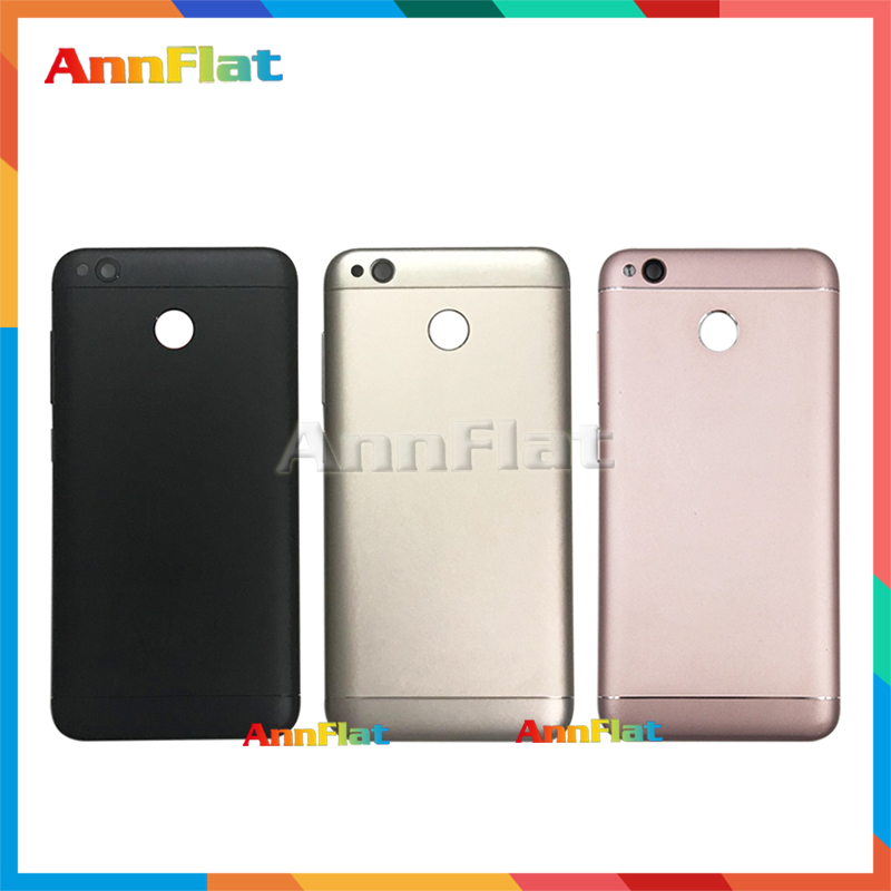 High Quality For Xiaomi Redmi 4X Metal Back Housing Battery Cover Door Rear Cover Replacement