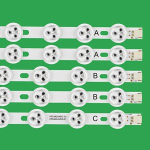 Image 2 - Светодиодная лента для подсветки LG 40 дюймов NDV REV1 VES400UNDS /DC 39FHD CNOV LC 39LD145K 40L3453DB 40PFL3018T/12, 5 шт.