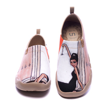 Casual Shoes Loafers Fashion Sneakers UIN Women's Painted Canvas Lightweight Comfortable