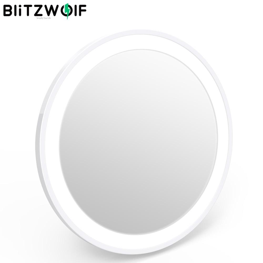 Blitzwolf BW-LM1 5000-8000K Portable Mini USB Rechargeable LED Makeup Mirror Light LED Makeup Mirror Light One Button Control