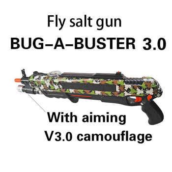 Nouveau Style pistolet à sel sel poivre balles Blaster Airsoft pour Bug soufflette moustique modèle jouet pistolet noël sel mouc