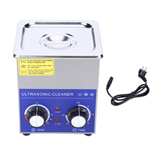 14L 10L 6L 3L 2L Stainless Steel 220V Mechanical Ultrasonic Cleaner Bath Heated & Timer Cleaning Jar Machine with Basket sonic