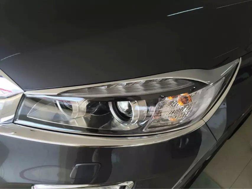 KOUVI 6pcs Chrome prednja žarometna svetilka za okrasne garniture ZA - Avtodeli