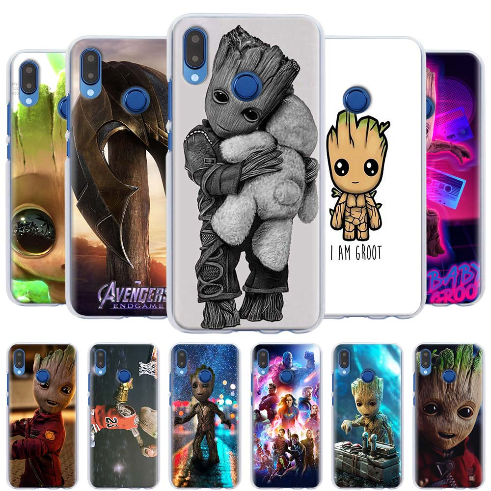 Guardians of the for Galaxy <font><b>Marvel</b></font> <font><b>Case</b></font> Cover for Honor Y5 Y6 <font><b>Y7</b></font> Y9 <font><b>Huawei</b></font> Y5 Y6 <font><b>Y7</b></font> Y9 <font><b>2019</b></font> Nova 5 5i Pro 5T Hard Shell <font><b>Case</b></font> image